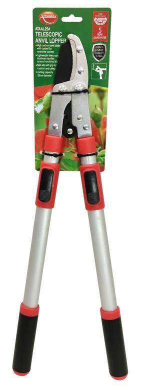 Ambassador Telescopic Anvil Lopper - Length: 64-95cm