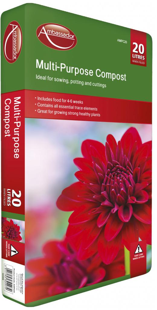 Ambassador Multi-Purpose Compost - 20L