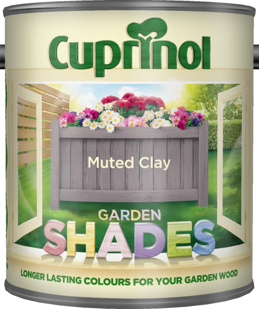 Cuprinol Garden Shades 1L - Muted Clay