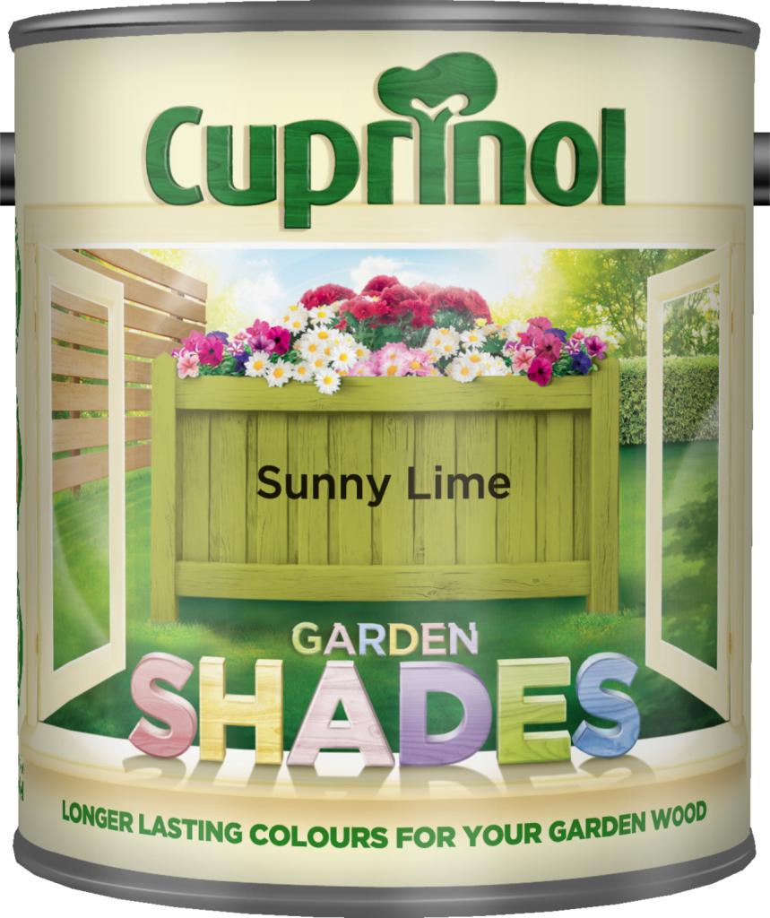 Cuprinol Garden Shades 1L - Sunny Lime