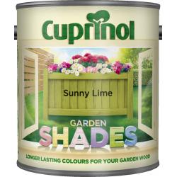 Cuprinol Garden Shades 1L Sunny Lime