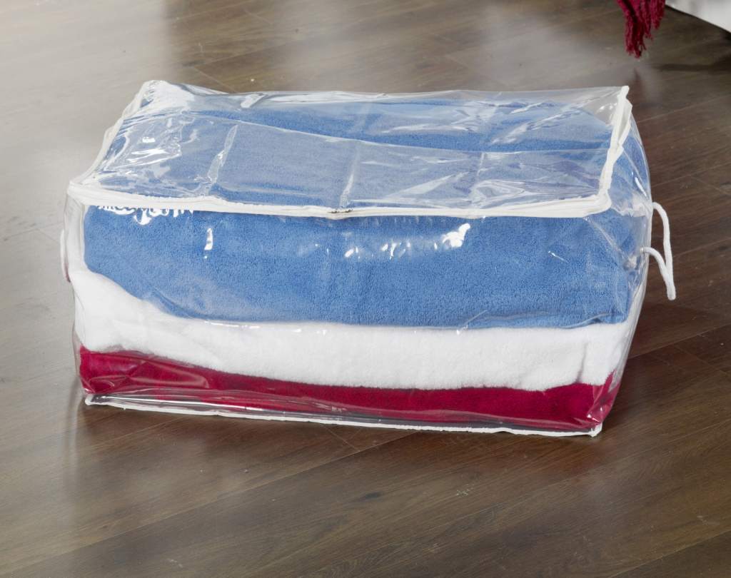H & L Russel Oblong Storage Bag - Clear