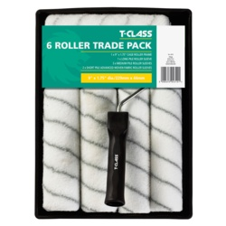 """Harris 9"""" Roller Set and 6 Woven Sleeves"""