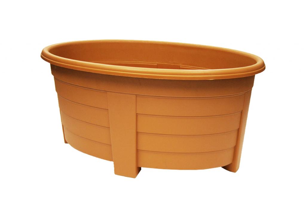 Grosvenor Oval Planter - 55cm Terracotta