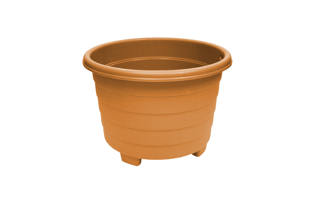 Grosvenor Round Planter - 32cm Terracotta