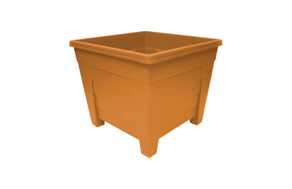 Grosvenor Square Planter - 33cm Terracotta