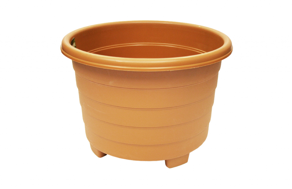 Grosvenor Round Planter - 39cm Terracotta
