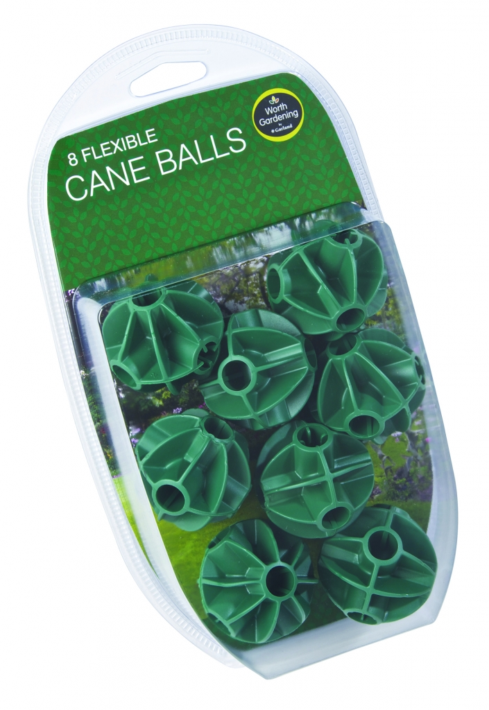 Garland Flexible Cane Balls - Pack 8
