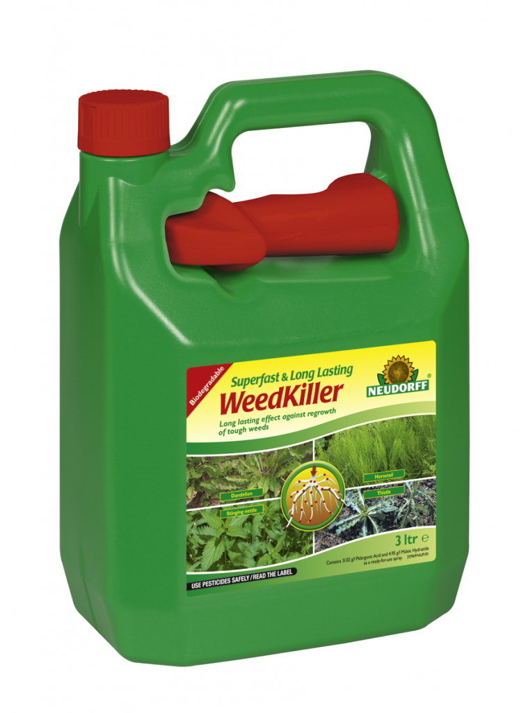 neudorff superfast long lasting weed killer in various sizes ebay. Black Bedroom Furniture Sets. Home Design Ideas