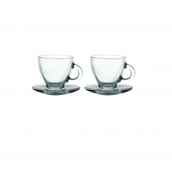 Rayware Entertain Cappuccino Cup & Saucer