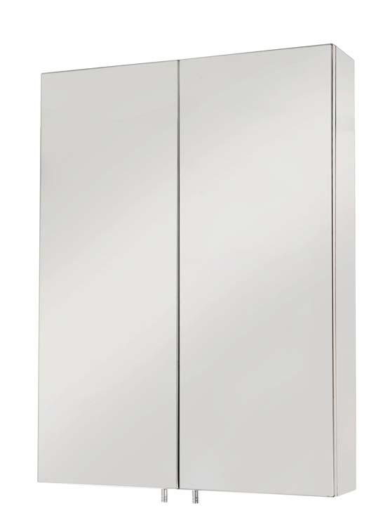 Anton Standard Double Door Stainless Steel Cabinet
