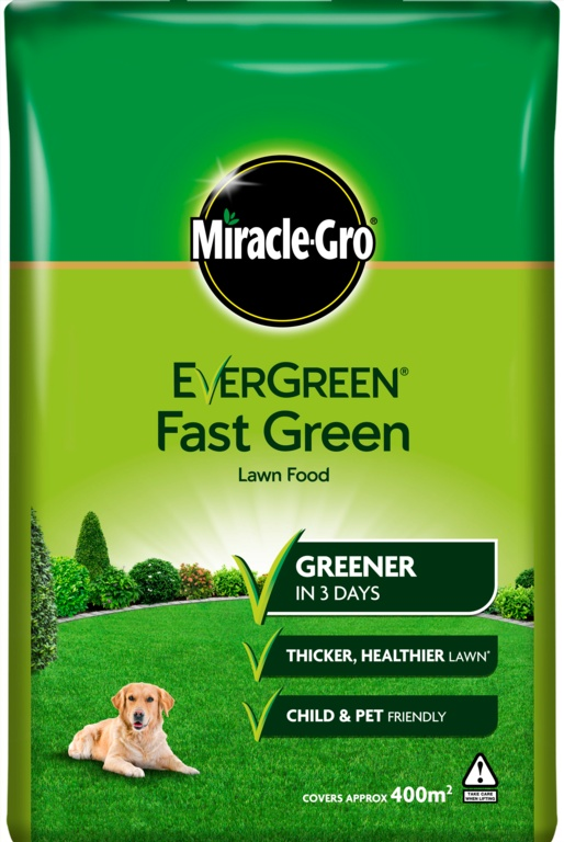 Miracle-Gro Evergreen Fast Green - 400m2 Bag