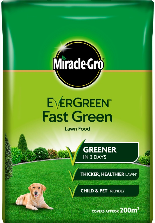 Miracle-Gro Evergreen Fast Green - 200m2 Bag