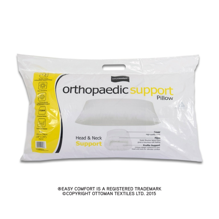 Easy Comfort Orthopaedic Support Pillow
