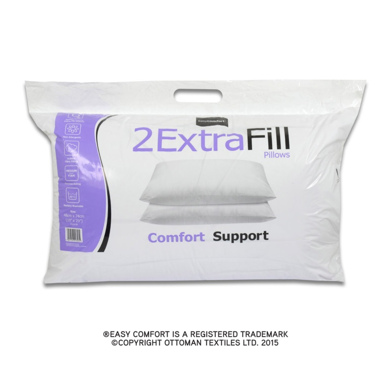 Easy Comfort Extra Fill Pillow