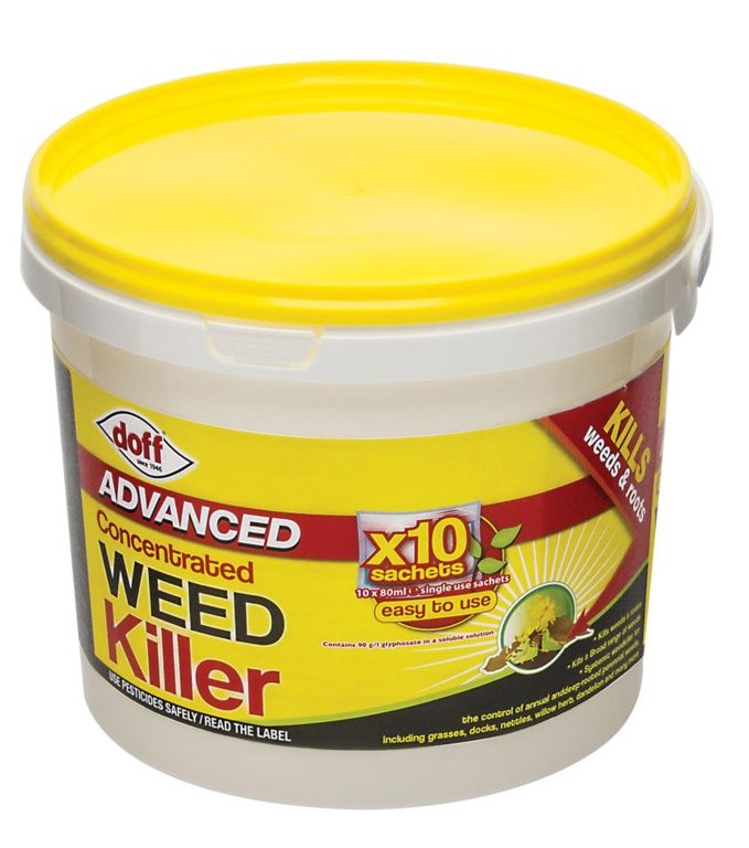 Doff Advanced Concentrated Weedkiller - 10 Sachet