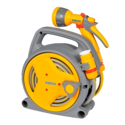 Hozelock Pico Reel With Hose/Fittings Spray Gun