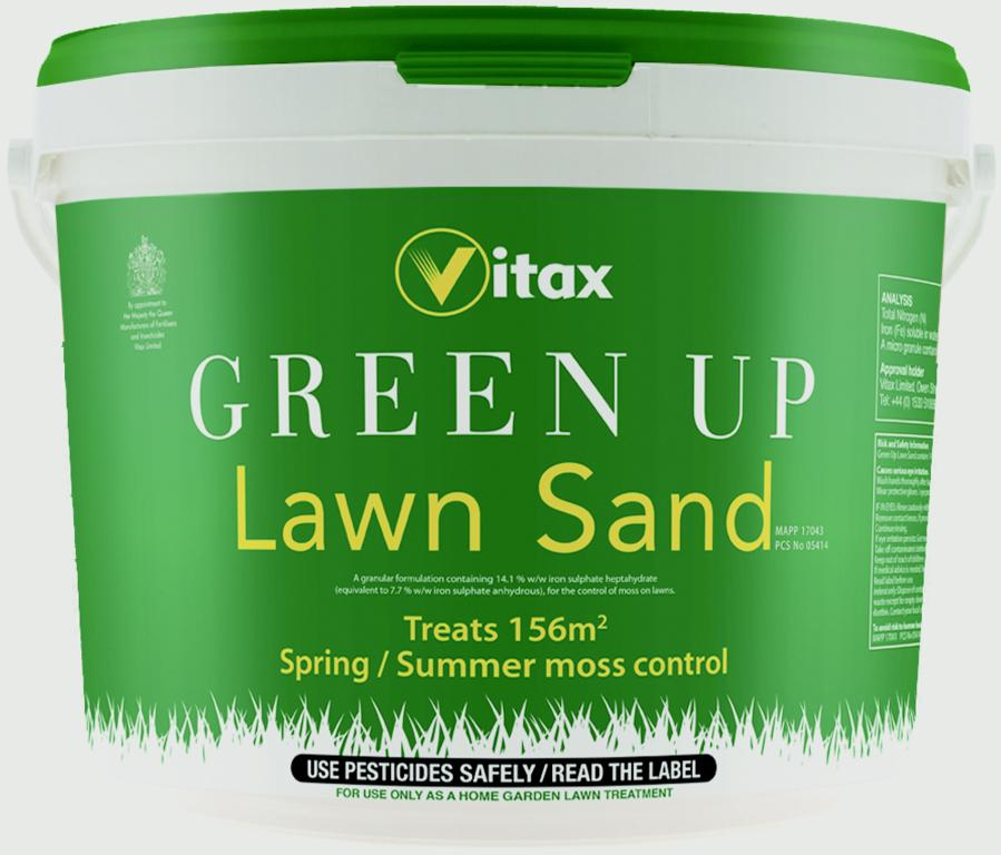 Vitax Green Up Lawn Sand - Treats 156m2