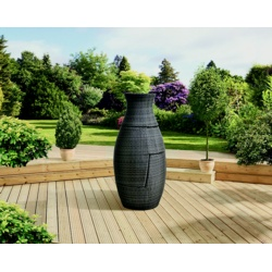 Pagoda Sorrento Rattan Bottle Set