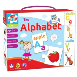 Anker Puzzles Lets Learn Alphabet