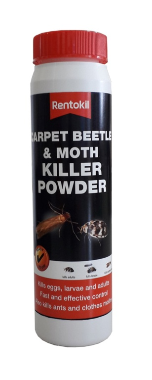 Rentokil Carpet Beetle & Moth Killer Powder - 150g