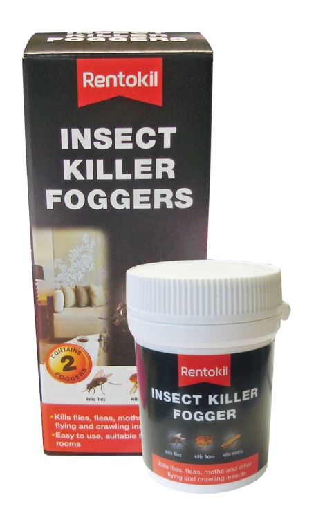 Rentokil Insect Killer Foggers - Twin Pack
