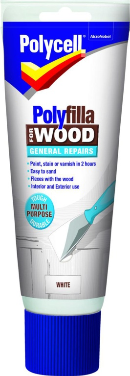 Polycell Polyfilla Wood Filler General Repairs - 330g Tube