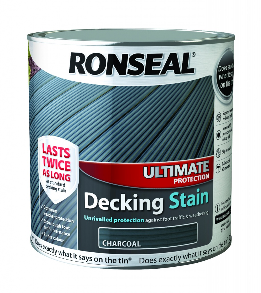 Water Resistant Woods This Is What You Should Know: Ronseal Ultimate Decking Stain 2.5L