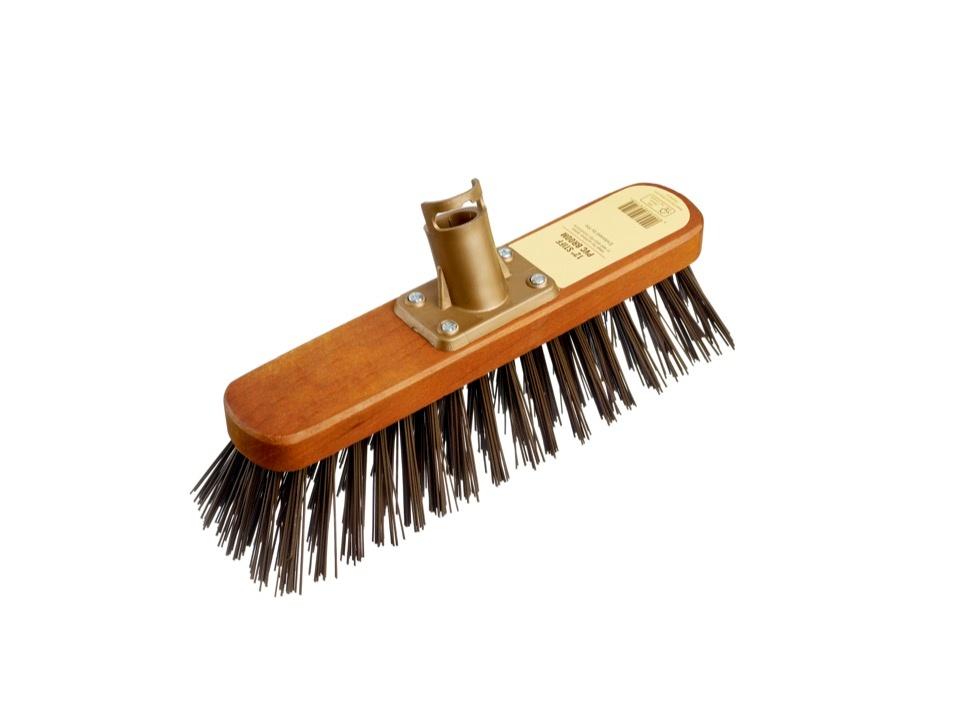 "Groundsman Stiff PVC Broom Head - 12"""