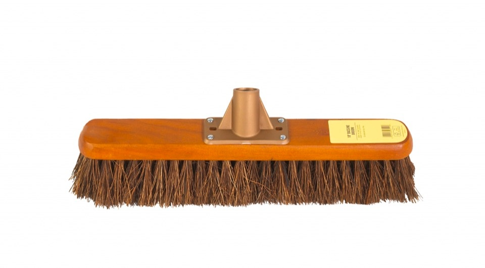 Groundsman Bassine Broom Head - 18""