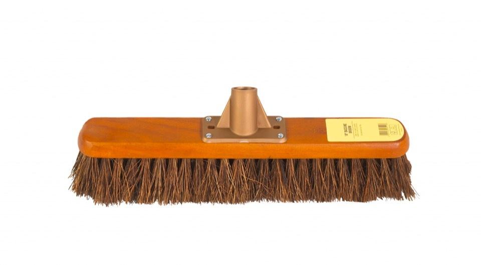 "Groundsman Bassine Broom Head - 18"""
