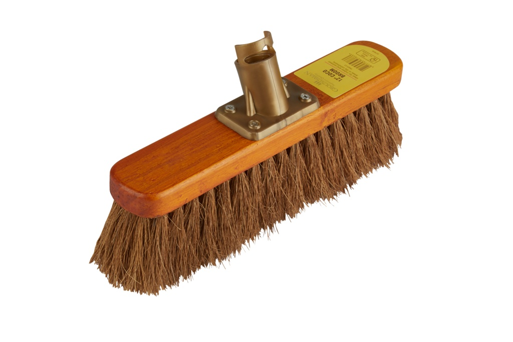 Groundsman Coco Broom Head - 12""