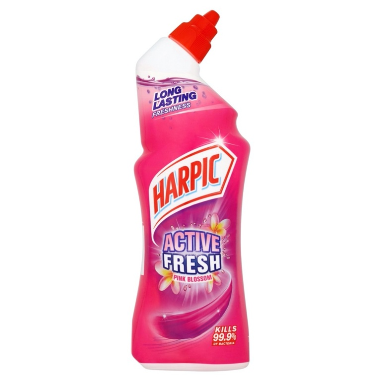 Harpic Active Fresh Cleaning Gel 750ml - Pink Blossom