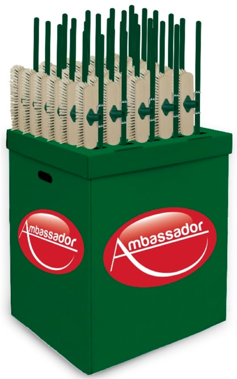 Ambassador Dump Bin - 2 Free On Loan