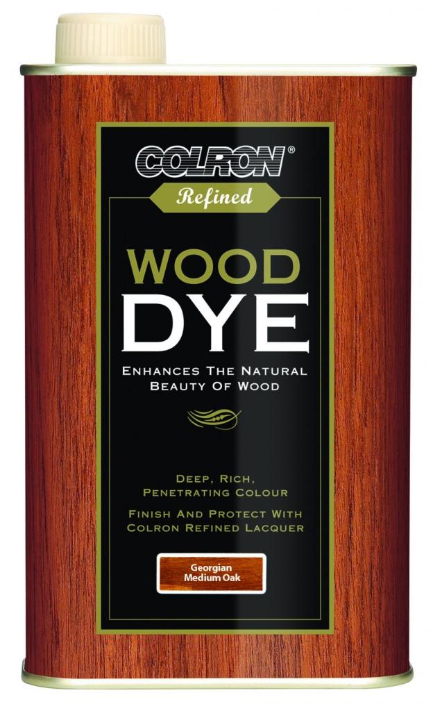 Colron Refined Wood Dye 250ml - Georgian Medium Oak
