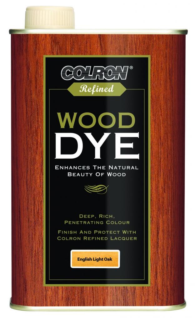 Colron Refined Wood Dye 250ml - English Light Oak