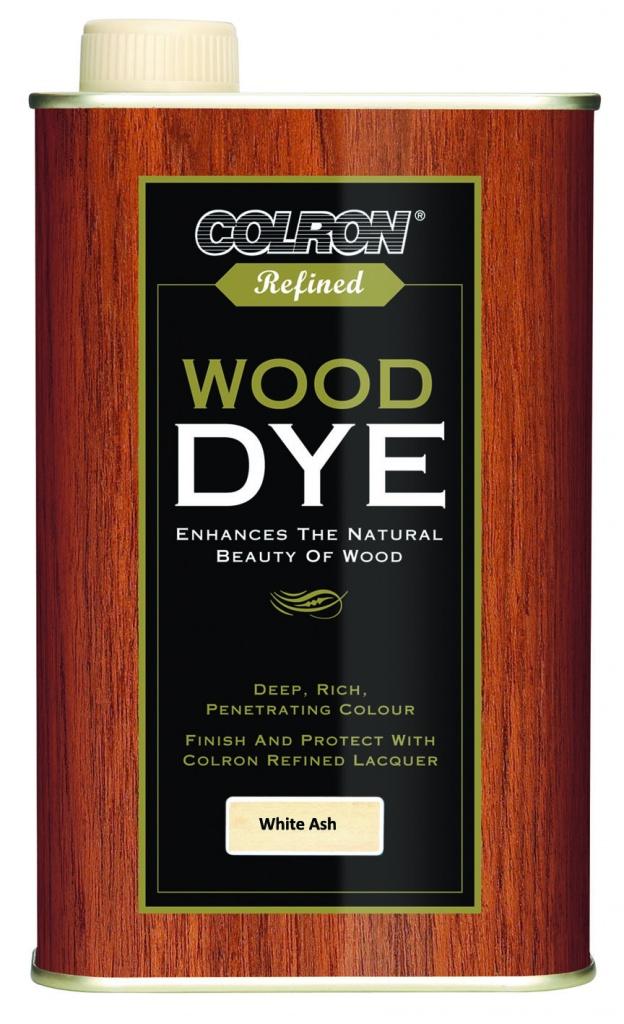 Colron Refined Wood Dye 250ml - Ash White