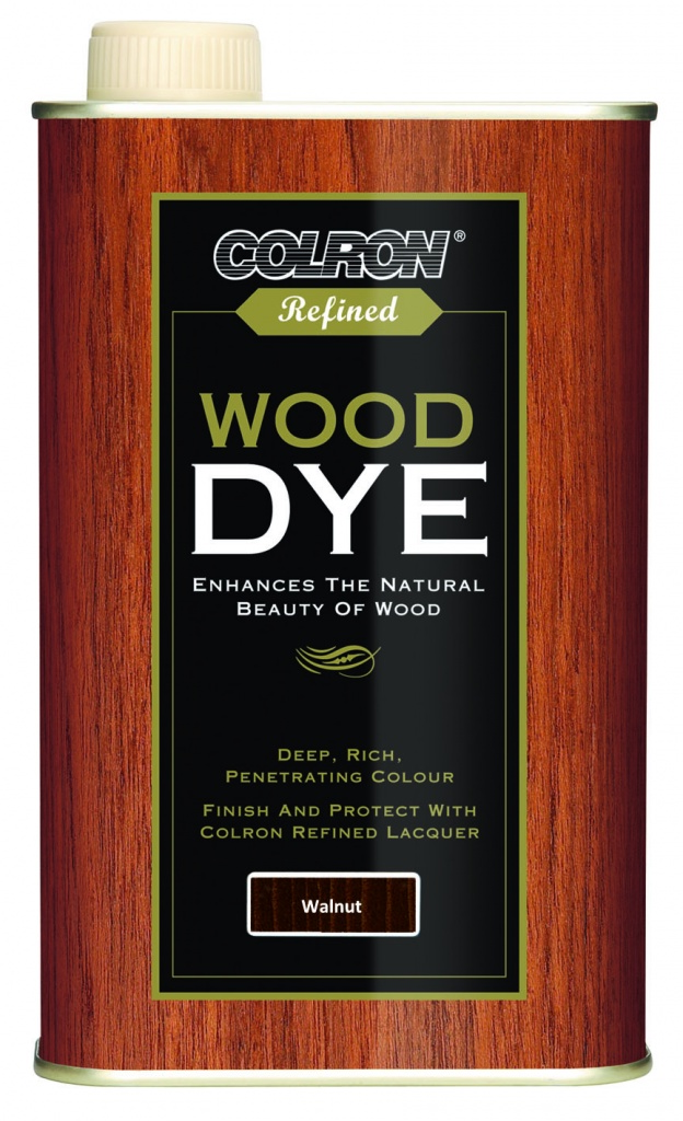 Colron Refined Wood Dye 250ml - Walnut