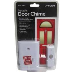 Uni-Com Portable Door Chime