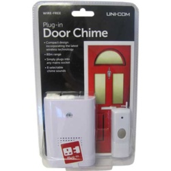 Uni-Com Plug In Door Chime