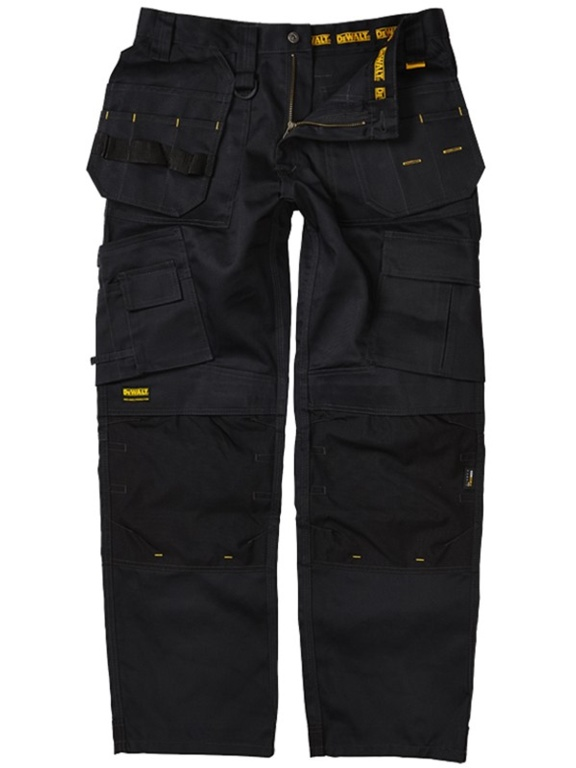 DeWalt Pro Tradesman Black Work Trouser - 33L32""
