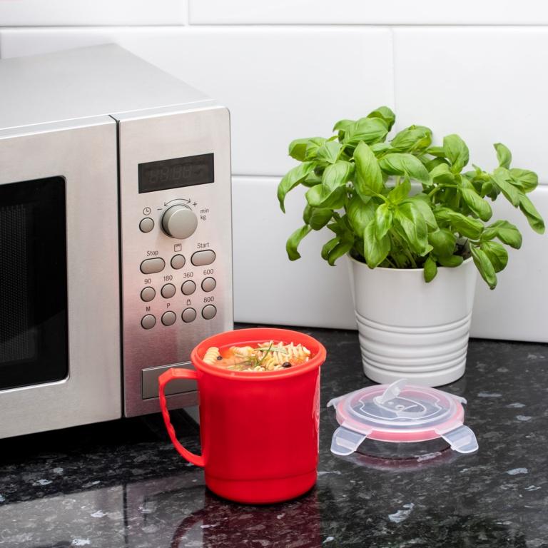 Pendeford Heat & Eat Soup Mug - Assorted Colours