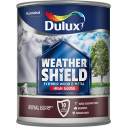 Dulux Weathershield Exterior Gloss 750ml Royal Berry