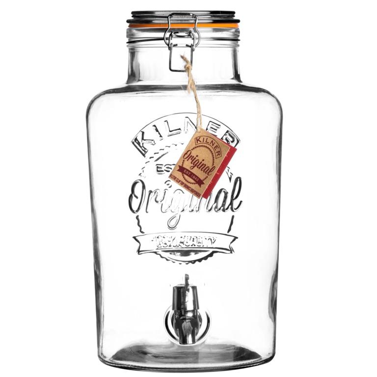 Kilner Clip Top Drinks Dispenser - 8L