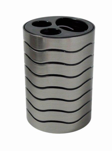 Blue Canyon Ice Toothbrush Holder - Black