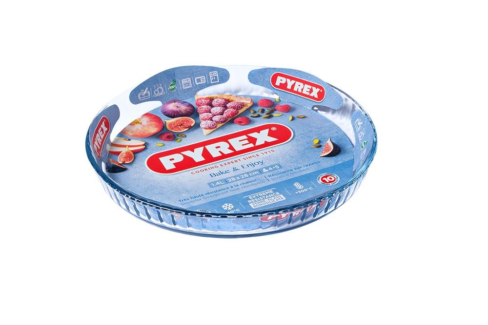 Pyrex Bake & Enjoy Flan Dish - 27cm