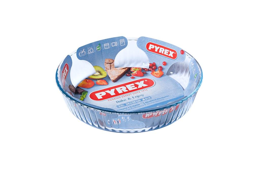 Pyrex Bake & Enjoy Fluted Flan Dish - 26cm