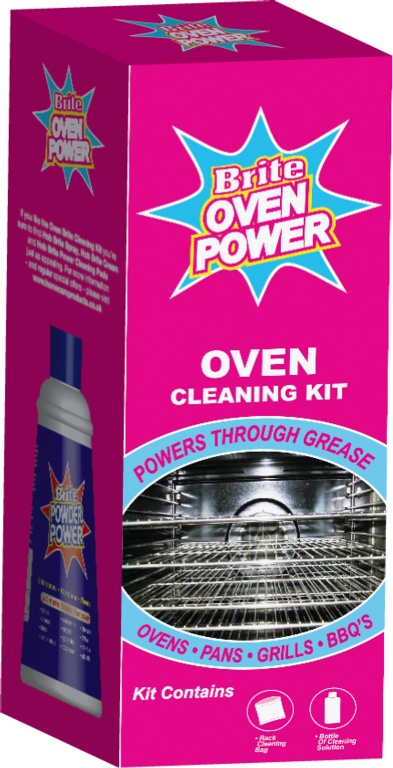 Brite Oven Power Kit - 330ml