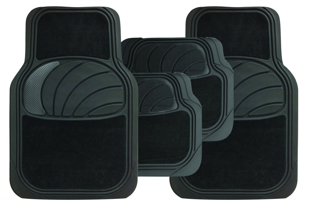Streetwize Azura Carpet/Carbon Mat Set - 4 Piece