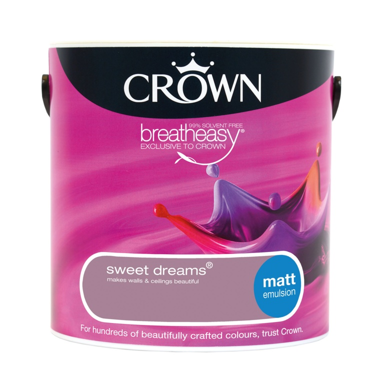 Crown Matt Emulsion 2.5L - Sweet Dreams